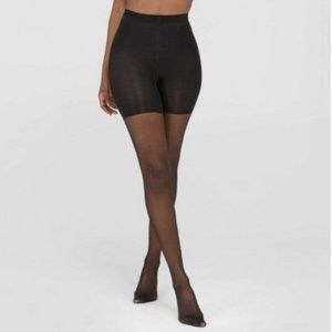 Assets by Spanx Shaping Sheers Black Size 1 NEW